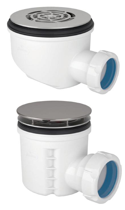 Válvulas para plato de ducha con sifón de 50mm (EN274)