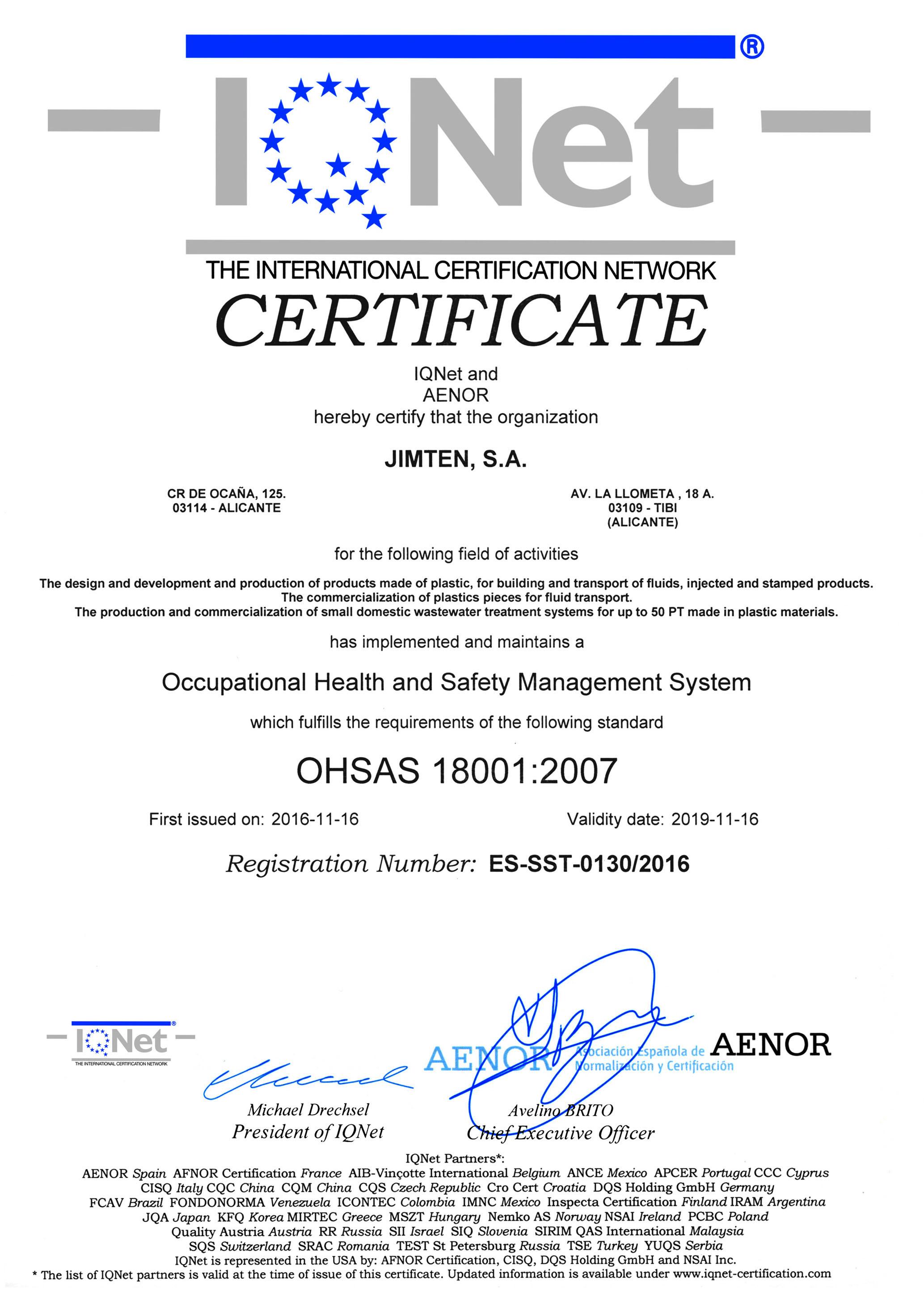 Certificado Jimten IQNET_OHSAS_2019.jpg