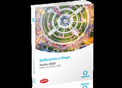 Nueva Tarifa Edificación y Riego 2020