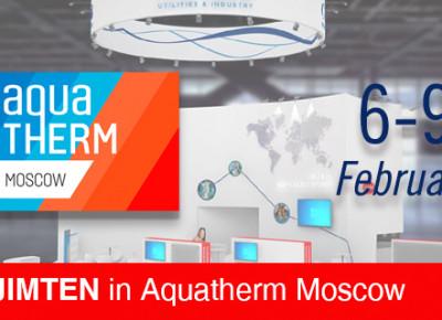 Jimten in AQUATHERM MOSCOW