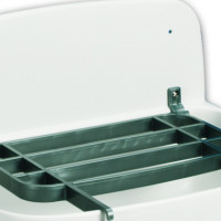 Synthetic sinks and wash basins