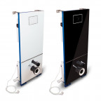 T-604CC - Cisterna empotrada con embellecedor frontal y triturador sanitario incorporado CICLON CC
