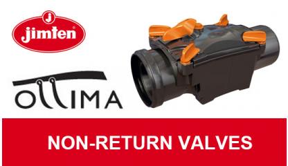 OTTIMA Non-return valves