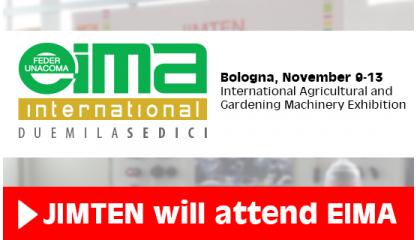 JIMTEN Jimten will attend EIMA 2016 (Bologna)
