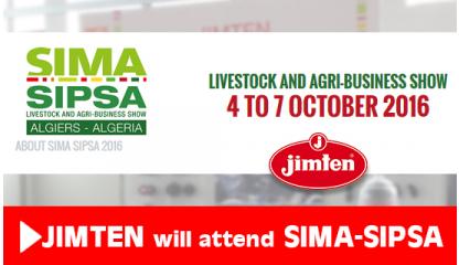 Jimten will attend SIMA-SIPSA in Argel
