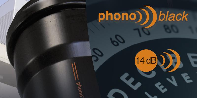 Phonoblack: Nuevo sistema de bajante insonorizada