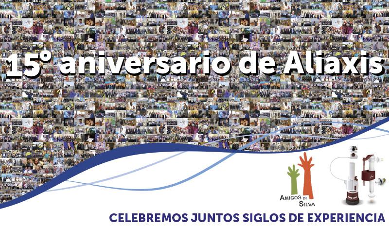 Campaña solidaria con motivo del 15º aniversario de Aliaxis