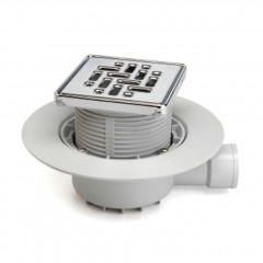 S-430 - Floor gully for shower tray works. Horizontal outlet