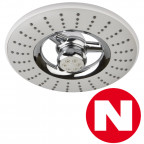 RAINBOW - Rociador circular de moderno diseño de doble difusor