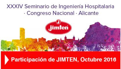 Jimten participa en el XXXIV Congreso Nacional de Ingeniería Hospitalaria