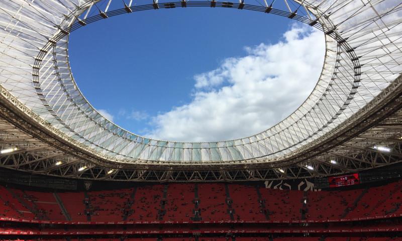 Cubierta Estadio SAN MAMÉS (2013) y ampliación cubierta (2016)
