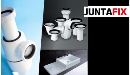 JUNTAFIX  Sifones y válvulas con juntas integradas