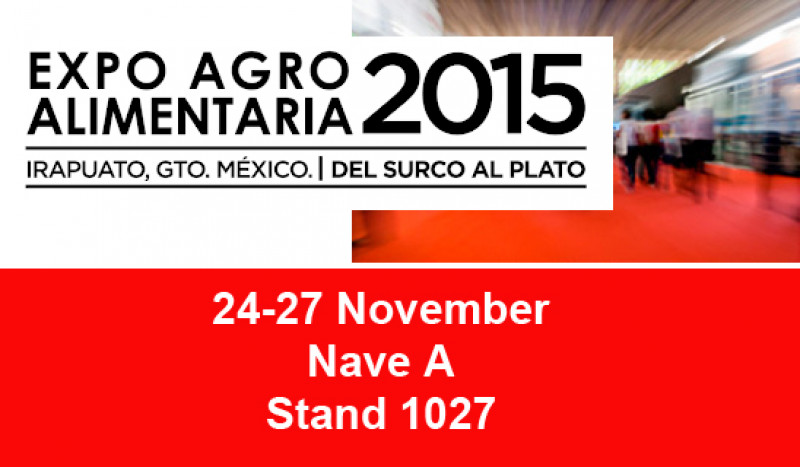 JIMTEN en la Feria EXPO AGROALIMENTARIA - IRAPUATO - MEXICO