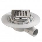 S-520 - Sumidero para plato de ducha de obra. Sifón seco.