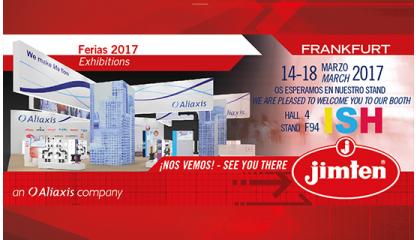 Jimten en ISH Frankfurt