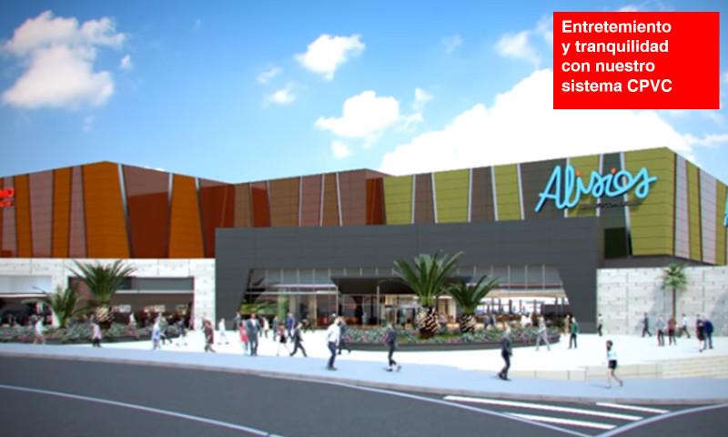 Centro comercial ALISIOS, en Gran Canaria
