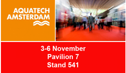 JIMTEN will attend AQUATECH - AMSTERDAM