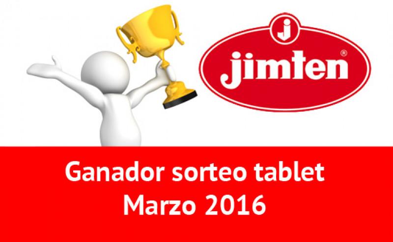 Ganador Sorteo tablet marzo 2016