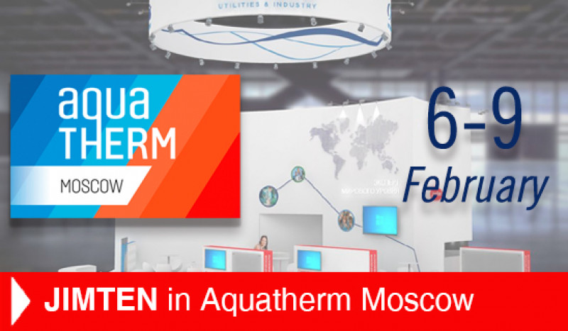 Jimten en AQUATHERM MOSCOW