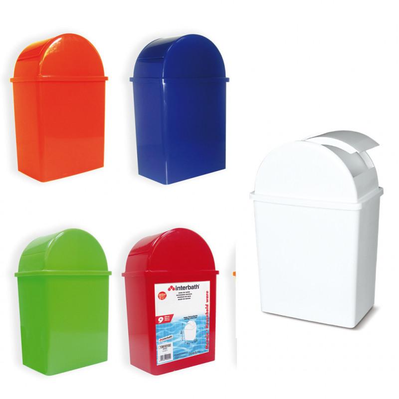 BAYBEN - Cubo de baño de 9 litros de capacidad