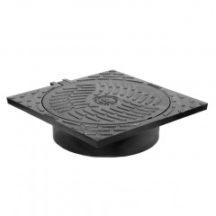 S-517 - Cast iron cover end