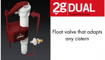 DUAL Float valve 3/8
