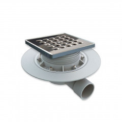 S-550 - Floor gully for shower tray works. Dry trap system