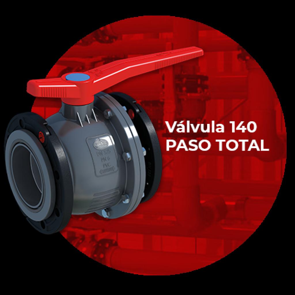Válvula 140 PASO TOTAL