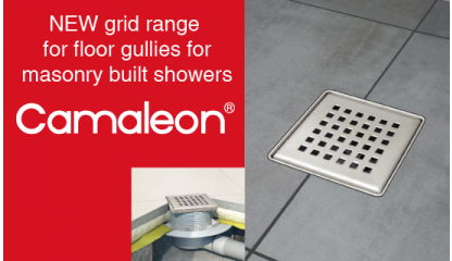 Camaleon 120 floor gully grid