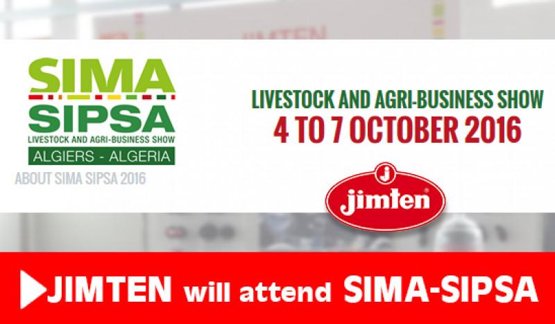 Jimten asiste a la feria mundial SIMA-SIPSA en Argelia