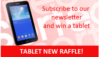 Tablet new raffle