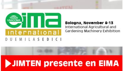 JIMTEN asiste a la feria internacional EIMA celebrada en Bolonia