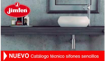 NUEVO Catálogo técnico sifones sencillos
