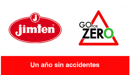 Jimten: Un año sin accidentes