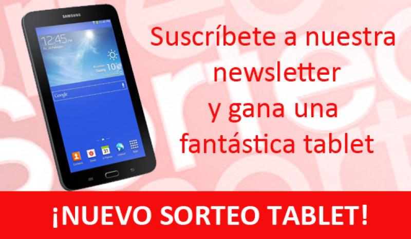 Nuevo sorteo tablet