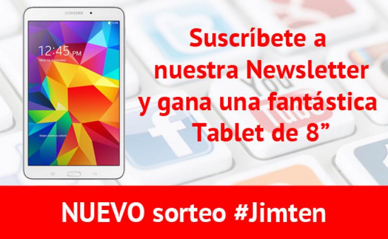NUEVO Sorteo #Jimten TABLET 8