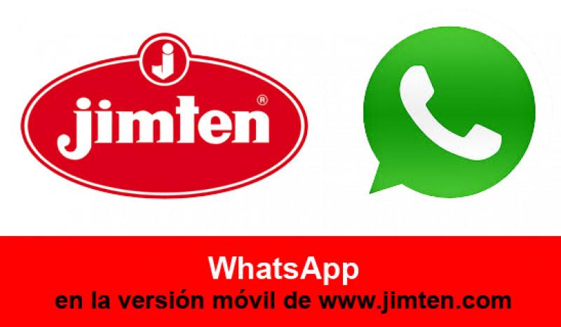 Nuevo servicio de Whatsapp #JIMTEN para compartir productos, novedades, fotos…